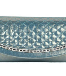 Buy Turquoise Wedding Clutch clutch online