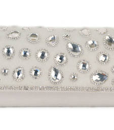 Buy White Wedding  Clutch clutch online