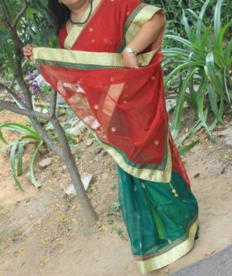 Banarasi Net Bridal Saree