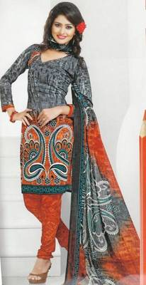 Dress Material Crepe Designer Prints Unstitched Salwar Kameez Suit D.No AP914