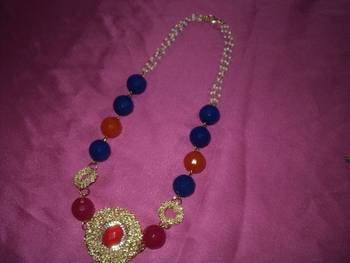 rich necklace