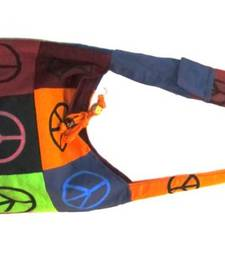 Buy colour patchwork with symbol HAND BAG tote-bag online