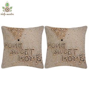 Home Sweet Home Digital Print Cushion Covers