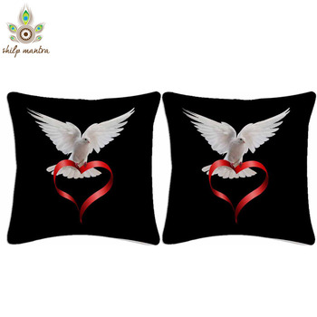 Love Messenger Digital Print Cushion Covers