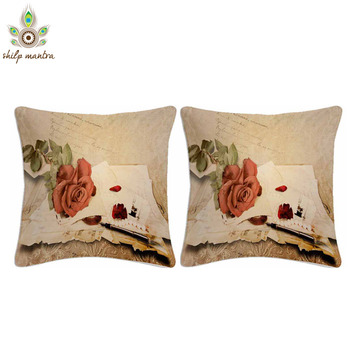 Post of Love Digital Print Cushion Covers