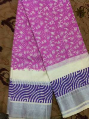 Pink Cotton silk