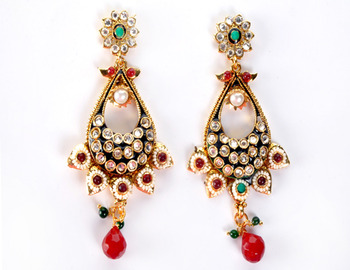 Traditional Multicolour Earring