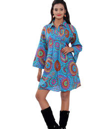 Buy Cotton Printed Tarquies Color  Dress top online