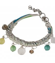 Buy Rings of Muted Charm Bracelet Necklace online