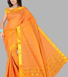Buy Pavechas Mangalgiri Solid Cotton Sari DNO 309  fashion-deal online