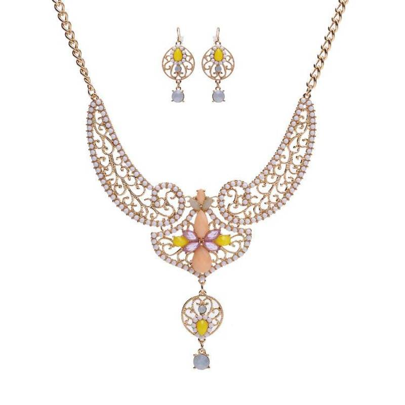 Kanjivaram Beads: The African Beads Jewelry Set