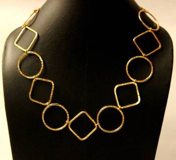 Trendy Gold Neckpiece