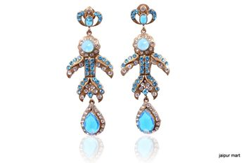 Fashion sweet crystal Rhinestone  earrings