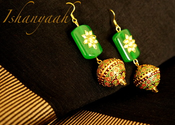 Devi- Festive colection Earring 4
