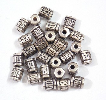 Do it yourself, silver finding beads jewelry making