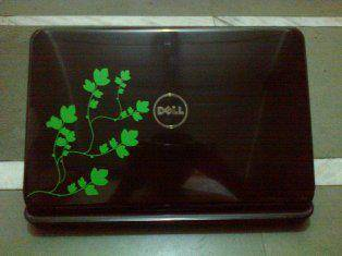 Vines laptop wall decal