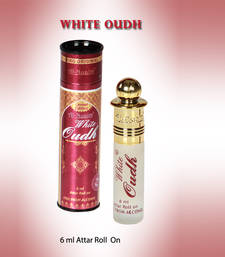 Buy AL NUAIM WHITE OUDH 6ML ROLL ON gifts-for-her online