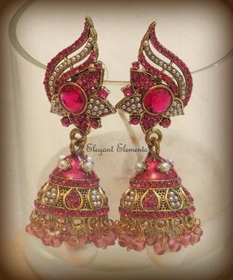 Festival dhamaaka, royal look rajwadi collection jhumki