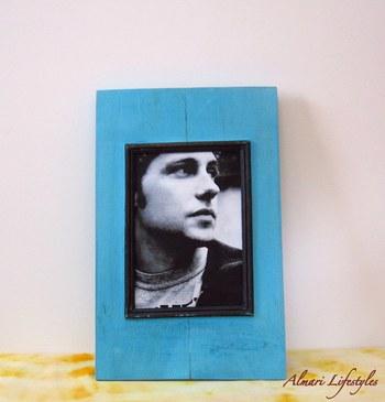 Picture Frames: Designer Frames: Fab Blue