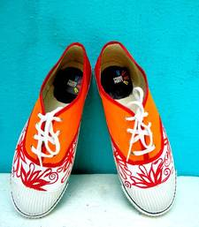 Buy Funky Feet-Summer Spunk-orange Shoe online