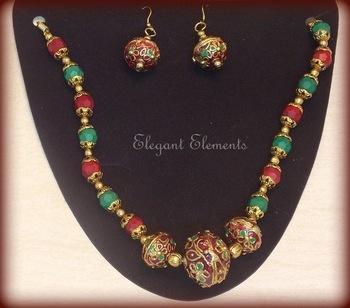 Festival dhamaaka, royal look rajwadi collection necklace set