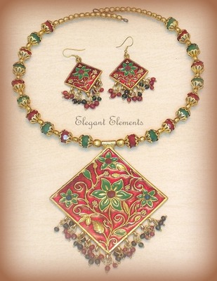 Festival dhamaaka, royal look rajwadi collection necklace set