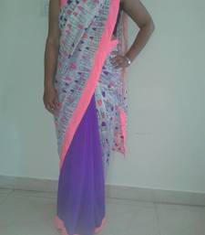 Buy Lipstick On your Saree 1 chiffon-saree online