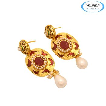 Vendee Precious Stone Earrings 7397