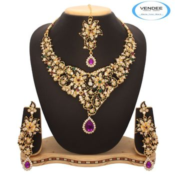 Vendee Bridal Fashion Necklace 7647