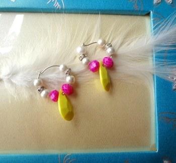 cute baali pink ,yellow and whitedimeter