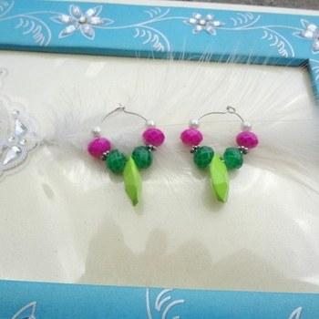 cute baali green n pink