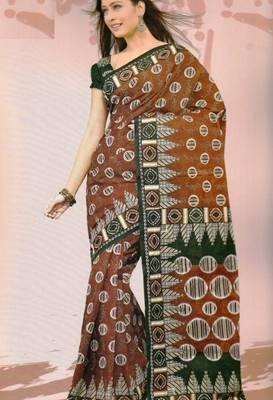 Sarees Mal Mal Cotton Designer Prints With Blouse Piece D.No D1022