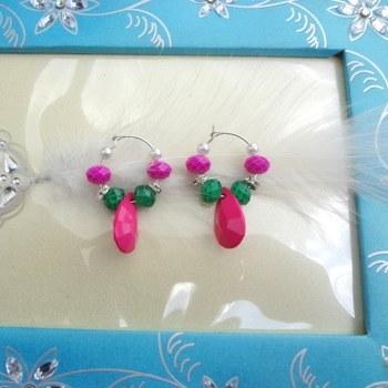 cute baali pink n  green