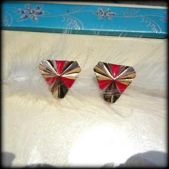 urban gold color studs