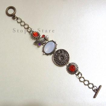 vintage style multicolor bracelet