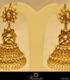 Alankruthi Fancy Gold Jhumka 18