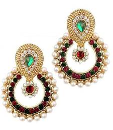 Pearl traditional ethnic indian earring