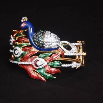 Peacock American Diamond Bracelets