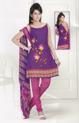 Dress Material Crepe Designer Prints Unstitched Salwar Kameez Suit D.No SJ1213
