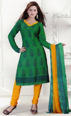 Dress Material Crepe Designer Prints Unstitched Salwar Kameez Suit D.No SJ1215