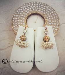 Buy Pdz  Paankuri Tanjore- Green danglers-drop online