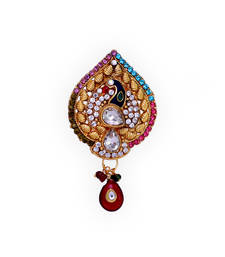 Buy Traditional Indian Peacock Design Ladies Brooch brooch online
