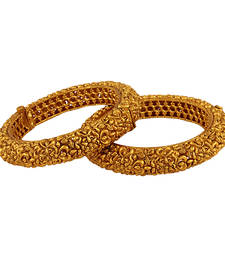 Buy Fabulous Gold plated Antique Bangles bangles-and-bracelet online