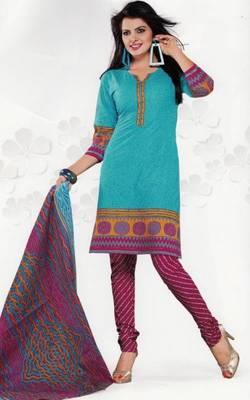Cotton Dress Material Elegant Designer Unstitched Salwar Suit D.No 3503