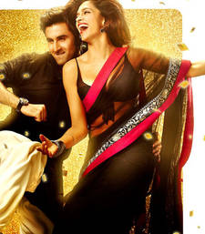 Buy Deepika Padukone Yeh Jawani Hai Diwani Net Replica Bollywood Saree deepika-padukone-saree online