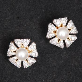 American Diamond Stud