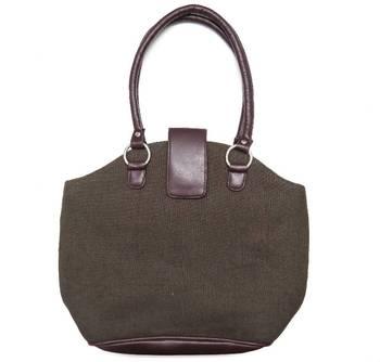 """Brown Handbag - 14"""" x 11"""" - 100405"""