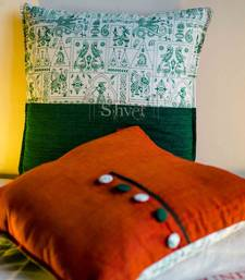 Buy Big Warli Cushions pillow-cover online