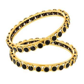 Mahi Gold Plated Ingenious Fashion Bangles