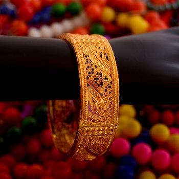 Golden bangle #60
